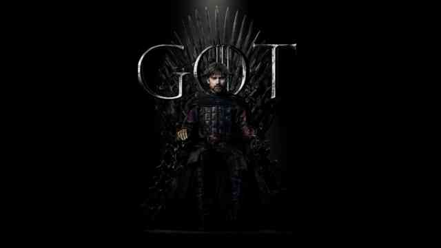 Game of Thrones 8 Season wallpaper 4K UHD Jaime Lannister on the Throne